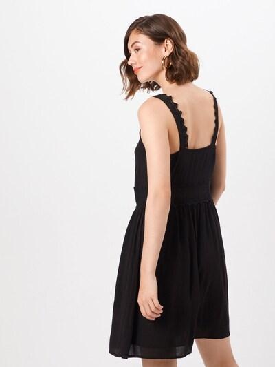 ABOUT YOU Kleid 'Derya' in schwarz: Rückansicht