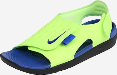 Pantofi deschiși 'Sunray Adjust 5 (GS/PS)' Nike Sportswear pe albastru / galben, Vizualizare produs