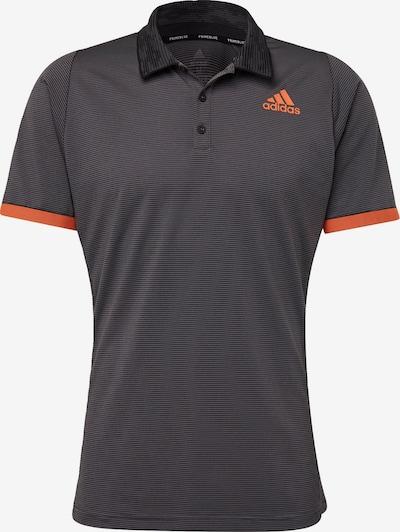 ADIDAS PERFORMANCE Shirt 'FreeLift Primeblue' in anthrazit / orange / schwarz, Produktansicht