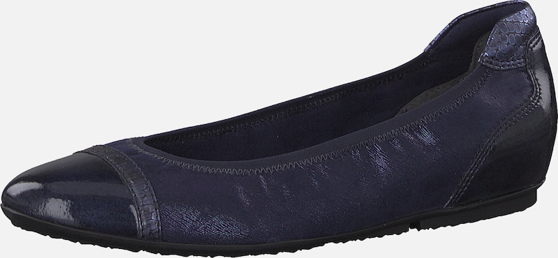 TAMARIS Slipper in navy: Frontalansicht