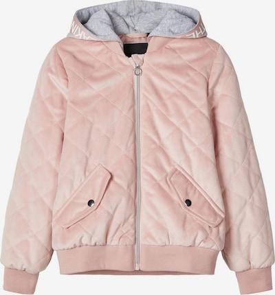 NAME IT Veste mi-saison en rose pastel, Vue avec produit