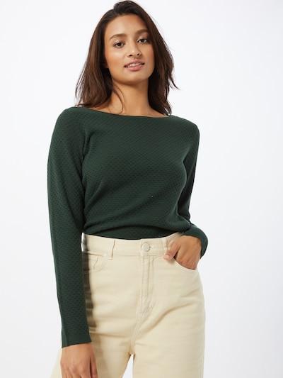 ESPRIT Pullover in dunkelgrün, Modelansicht