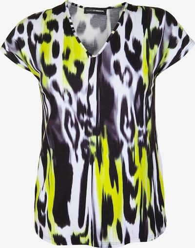 Doris Streich 'Shirt mit Animal-Print' in gelb / mischfarben / schwarz / weiß, Produktansicht