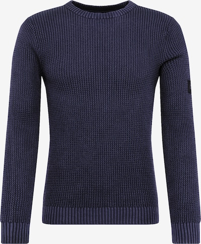 JACK & JONES Pullover 'JCOCUSTER KNIT CREW NECK' in navy, Produktansicht