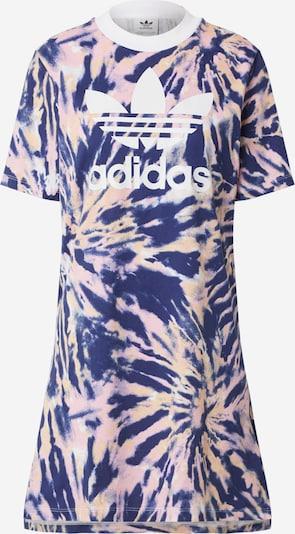 ADIDAS ORIGINALS Kleid in navy / hellorange / rosa / weiß, Produktansicht