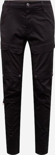 G-Star RAW Pantalon cargo en noir, Vue avec produit