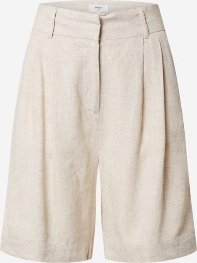 OBJECT Pantalon en crème / blanc, Vue avec produit