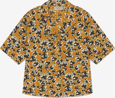 Thinking MU Bluse ' Lomami' in gelb / grün, Produktansicht