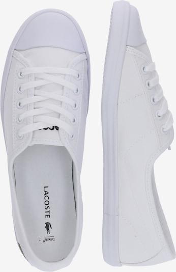 LACOSTE Sneaker 'ZIANE BL 2 CFA' in weiß: Seitenansicht