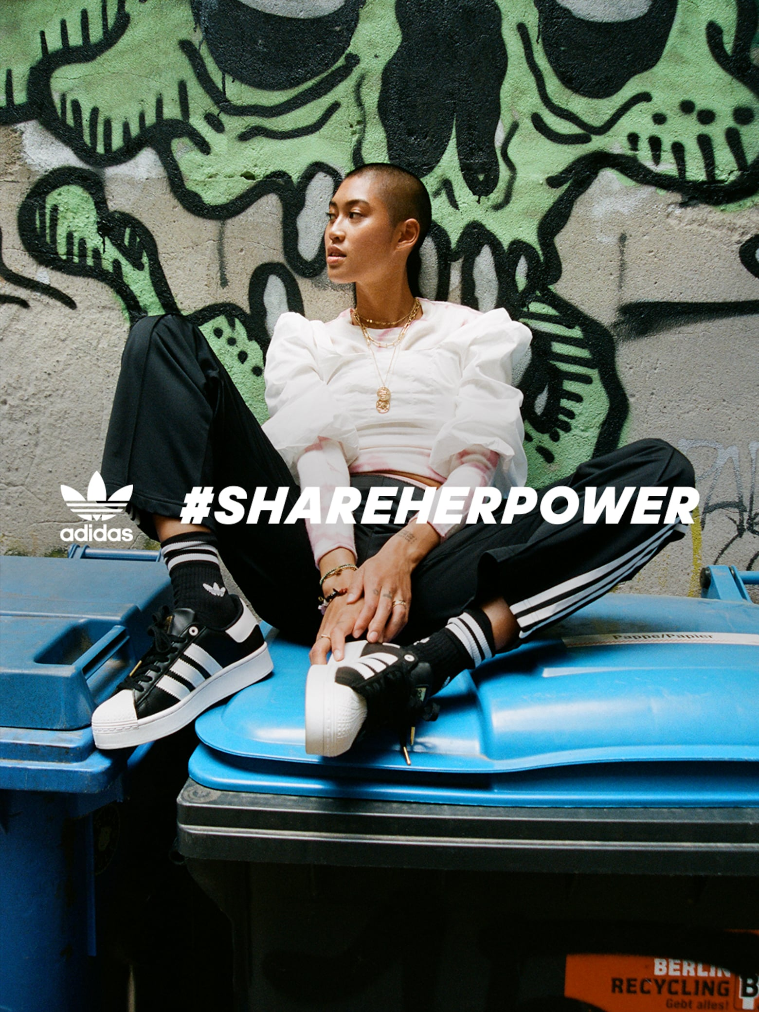 #SHAREHERPOWER adidas Originals