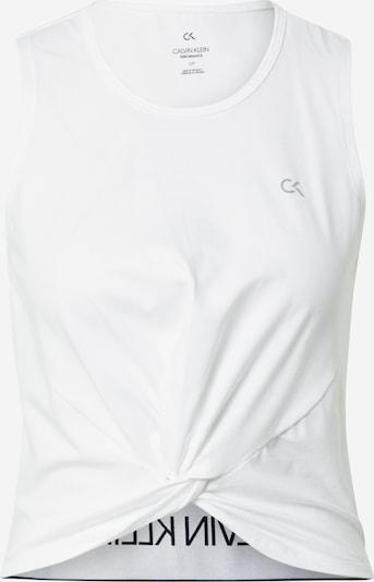 Sport top 'TANK' Calvin Klein Performance pe negru / alb, Vizualizare produs