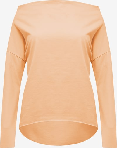 Usha T-shirt en orange pastel: Vue de face