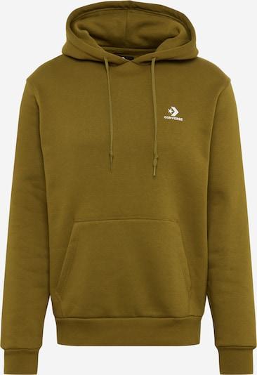 CONVERSE Hoodie in dunkelgrün, Produktansicht