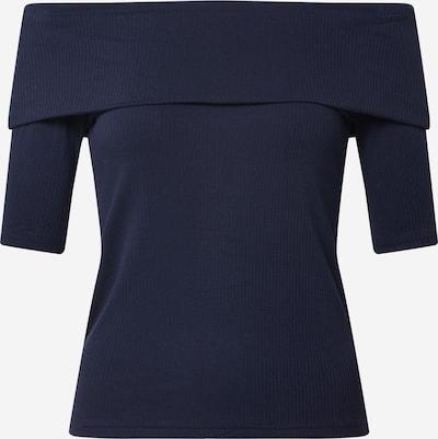 Banana Republic T-shirt 'OFF SHOULDER ELBOW SLEEVE RIB TOP' en bleu marine, Vue avec produit