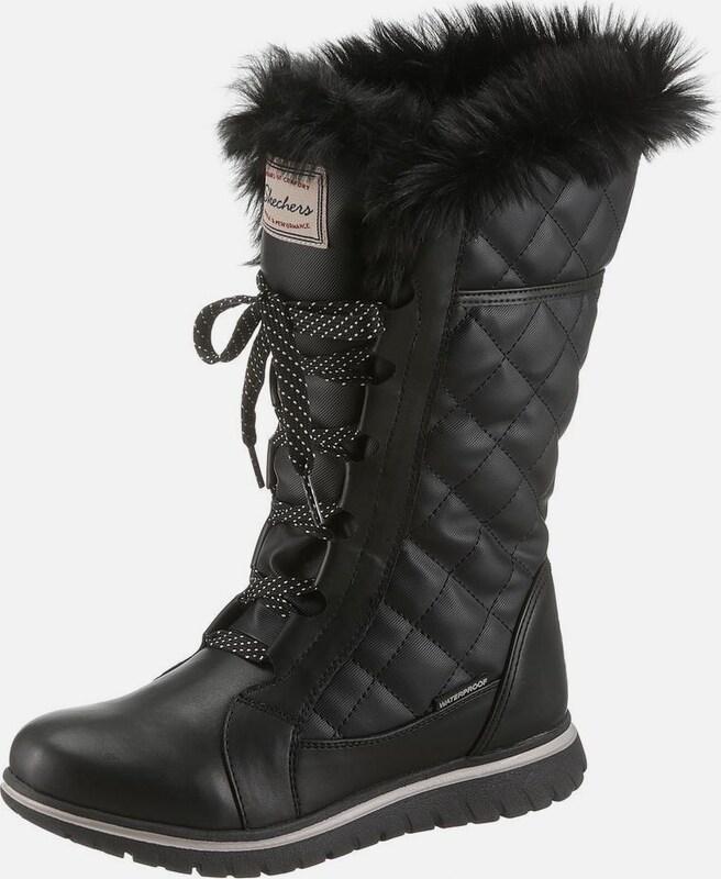 SKECHERS Winterstiefel Textil, sonstiges Material Billige Herren- und Damenschuhe