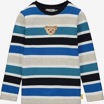 STEIFF Sweatshirt in blau / smaragd / schwarz / weiß, Produktansicht