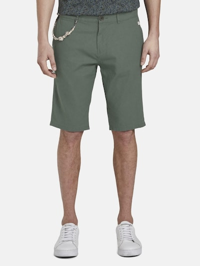 TOM TAILOR Shorts in khaki, Modelansicht