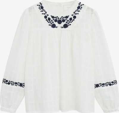 MANGO KIDS Hemd ' twice' in weißmeliert, Produktansicht