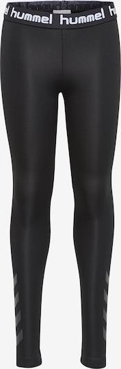 Hummel Sportbroek 'Tona' in de kleur Grijs / Zwart / Wit, Productweergave