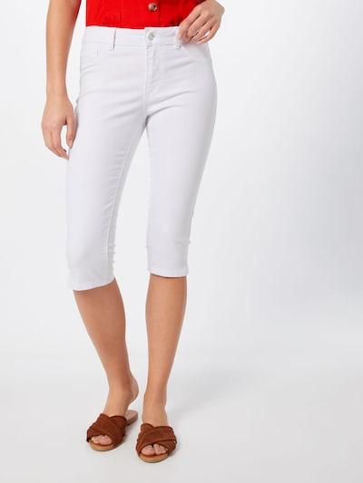 VERO MODA Jeans 'VMSEVEN' in white denim, Modelansicht