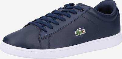 LACOSTE Sneaker 'Carnaby' in nachtblau / grün / weiß, Produktansicht
