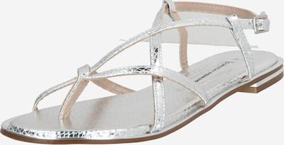 Dorothy Perkins Japonki 'Fresh Sandals' w kolorze srebrnym, Podgląd produktu