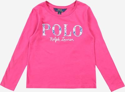 POLO RALPH LAUREN Shirt in blau / pink / weiß, Produktansicht