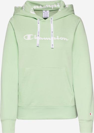 Champion Authentic Athletic Apparel Sweatshirt in pastellgrün / weiß, Produktansicht