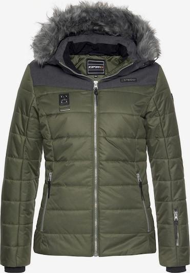 ICEPEAK Skijacke 'Pridie' in khaki, Produktansicht