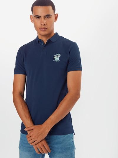 TOM TAILOR DENIM T-Shirt en bleu nuit: Vue de face