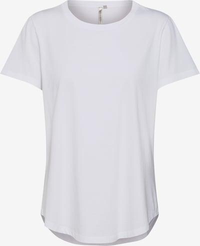 Banana Republic Shirt 'SS SUPIMA CREW RELAUNCH' in de kleur Wit, Productweergave