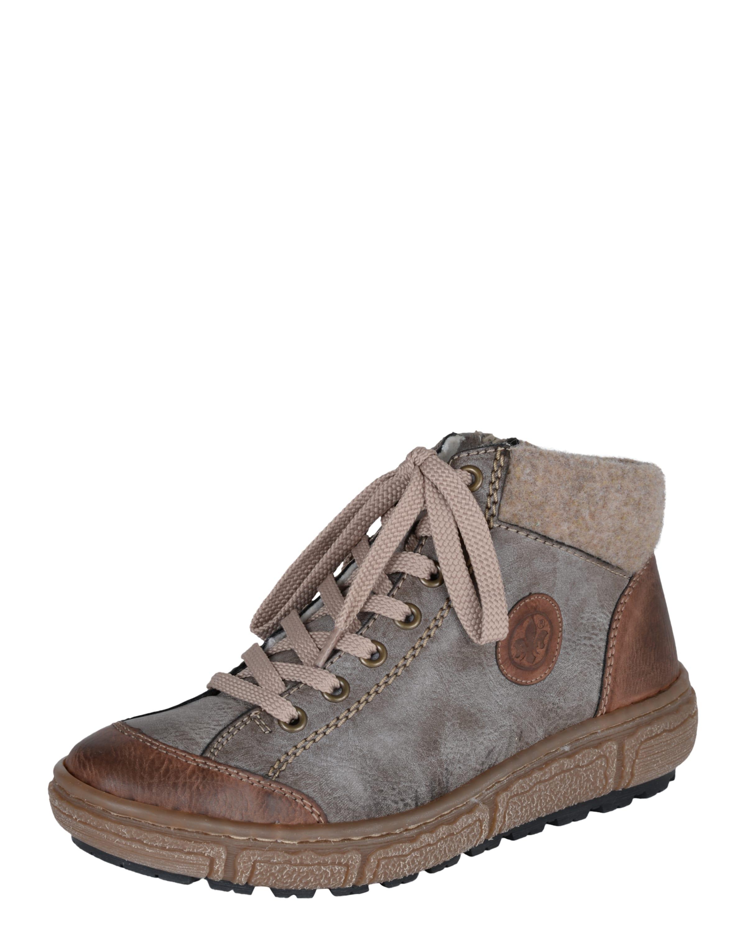 Rabatt Nicekicks Verkauf Von Top-Qualität RIEKER Sneaker mit Fleece-Fütterung HEQ0v04a