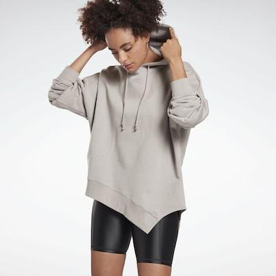 REEBOK Sweatshirt in taupe: Frontalansicht