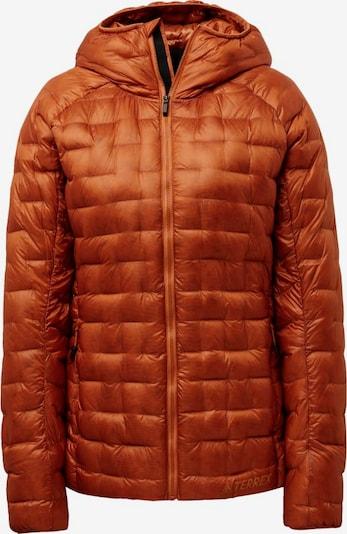 ADIDAS PERFORMANCE Jacke in rostbraun, Produktansicht