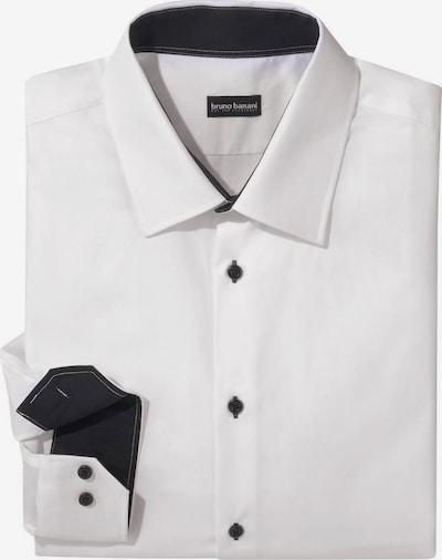 BRUNO BANANI Hemd in schwarz / weiß, Produktansicht
