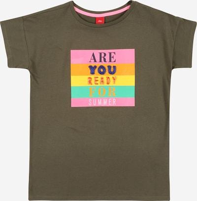 s.Oliver Koszulka w kolorze żółty / khaki / nefryt / pomarańczowy / różowym, Podgląd produktu