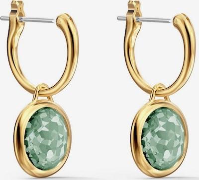 Swarovski Boucles d'oreilles 'Tahlia' en or / vert, Vue avec produit