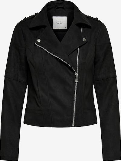 JACQUELINE de YONG Biker Jacke in schwarz, Produktansicht