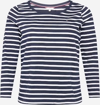 Tommy Hilfiger Curve T-shirt 'Candice' en bleu / blanc, Vue avec produit
