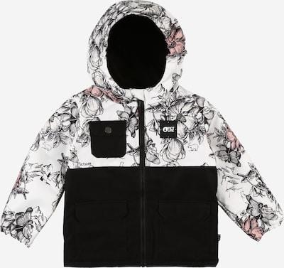 Picture Organic Clothing Jacke 'SNOWY' in schwarz / weiß, Produktansicht