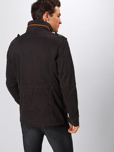 Demisezoninė striukė 'ROOKIE' iš Superdry , spalva - juoda: Vaizdas iš galinės pusės