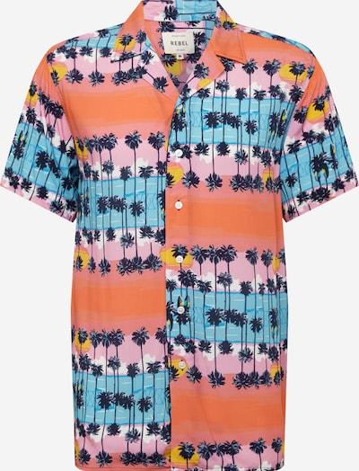 Redefined Rebel Hemd 'Benjamin Shirt' in blau / pink, Produktansicht