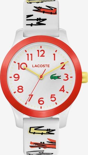 LACOSTE Uhr in hellrot / weiß, Produktansicht