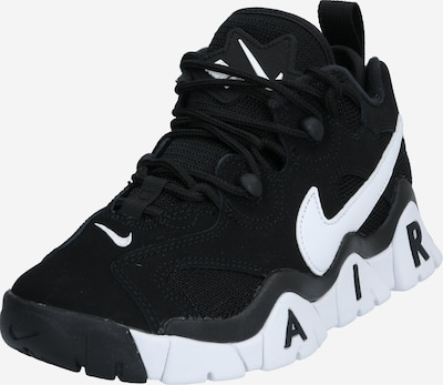 Nike Sportswear Schuhe 'NIKE AIR BARRAGE LOW (GS)' in schwarz / weiß, Produktansicht