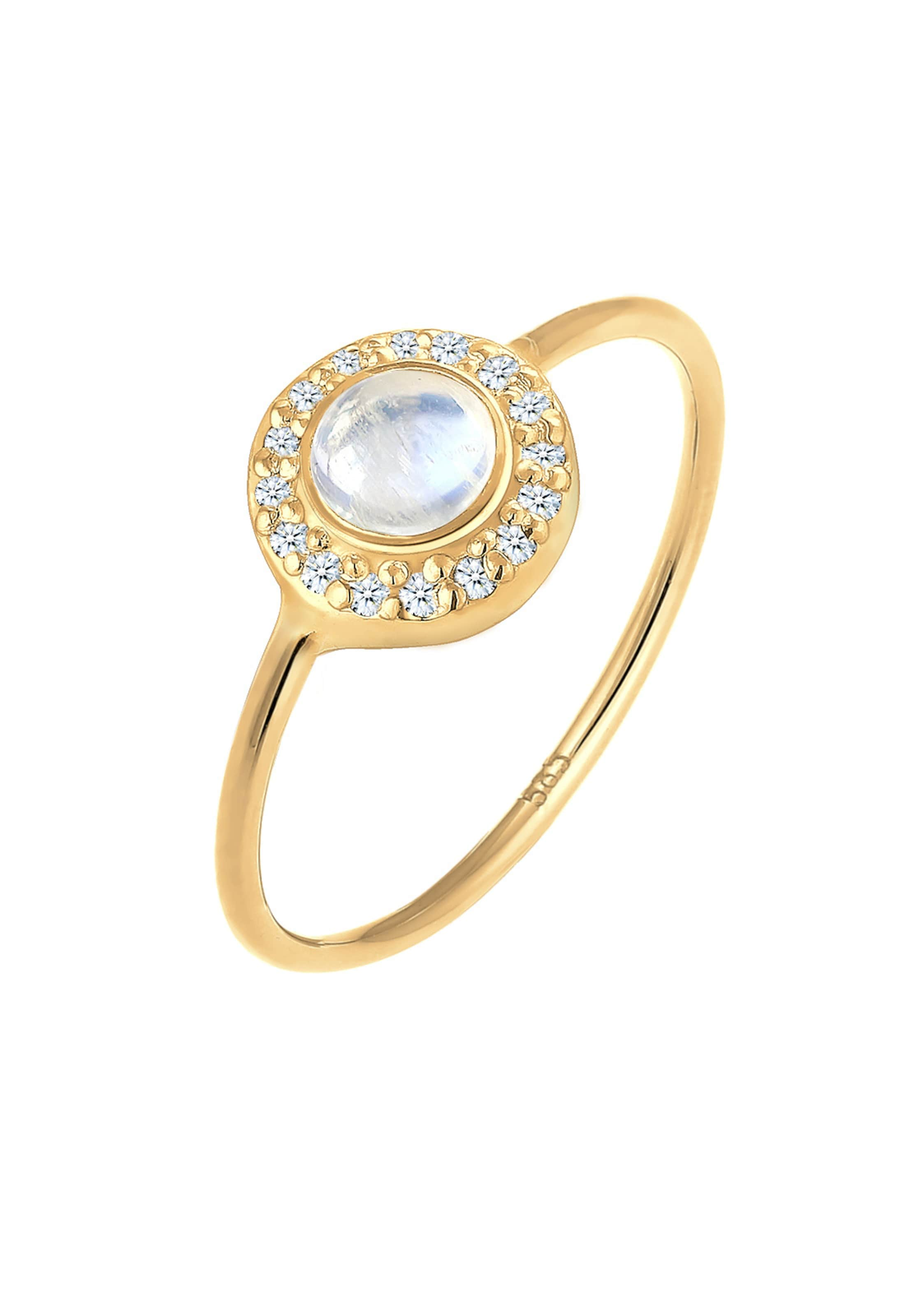 In In Premium GoldWeiß Elli Ring Elli Premium Ring Elli GoldWeiß kZuXiP