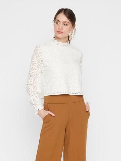 Y.A.S Bluse in weiß, Modelansicht