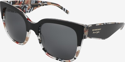 BURBERRY Zonnebril in de kleur Zwart, Productweergave