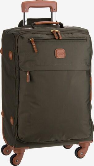 Bric's Trolley + Koffer in braun / oliv, Produktansicht