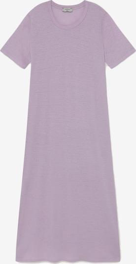 Thinking MU Kleid ' Hemp Oueme Dress ' in mauve, Produktansicht