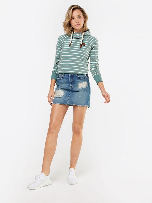 Skirt' Jupe Bleu 'denim Denim Mini En Superdry XOPuZik
